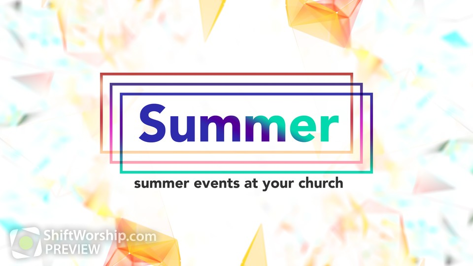 Summer Events Title 2