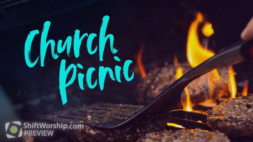 Church Picnic Title 2