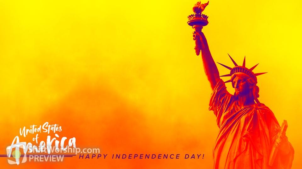 Happy Independence Day Corner