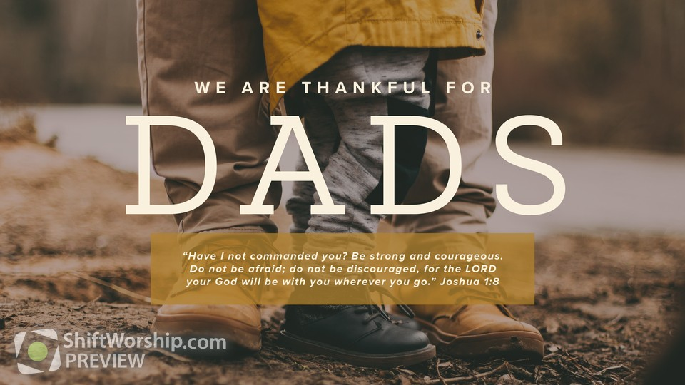 We Are Thankful For Dads Title 4