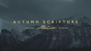 Autumn Scripture