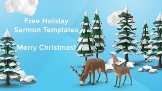 Free Christmas Templates