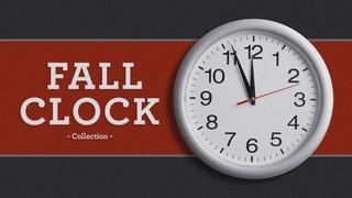 Fall Clock