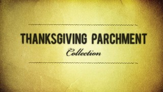 Thanksgiving Parchment