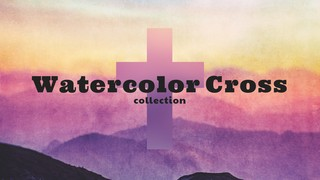 Watercolor Cross