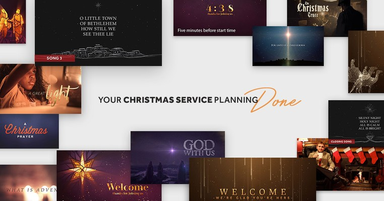 Three Ready-to-Go Christmas Service Plans