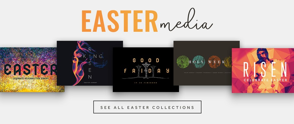 Easter Backgrounds, Church Videos & More!