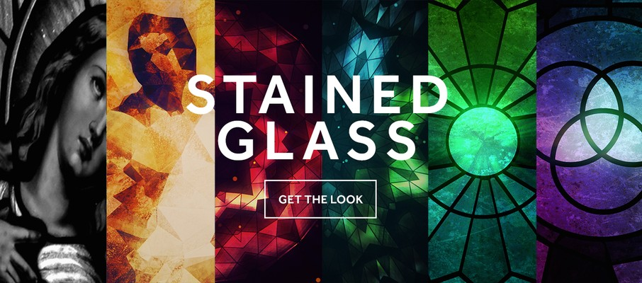 Popular Stained Glass Motion Backgrounds