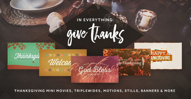 Thanksgiving Church Media Collections