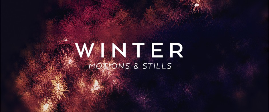 Winter Motion & Still Backgrounds