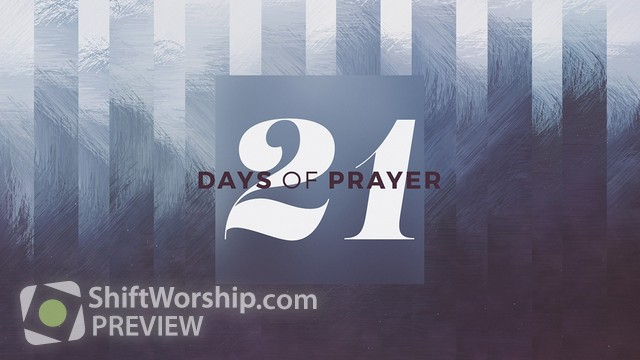Preview of 21 Days Prayer