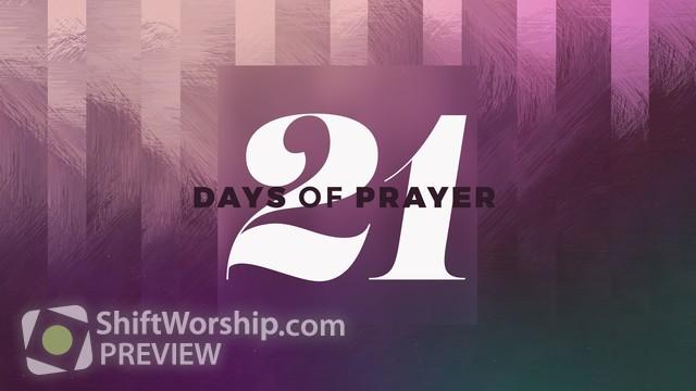 Preview of 21 Days Sermon Series