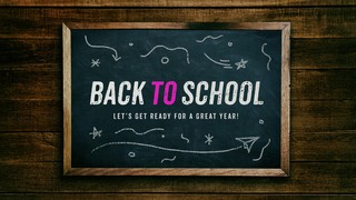 Back to School Sermon Title