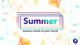 Summer Events (Sermon Titles)