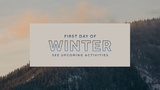 First Day of Winter Sermon (Sermon Titles)