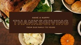 Thanksgiving Sermon (Sermon Titles)