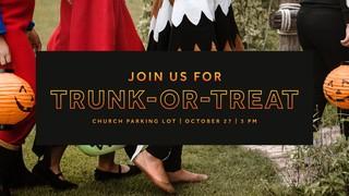 Trunk or Treat Sermon