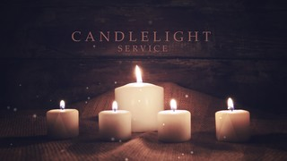 Advent Candles Candlelight Service