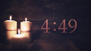Advent Candles Countdown