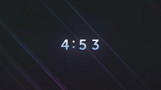 Ambient Streaks Countdown