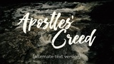 Apostles' Creed [Alternate Version]