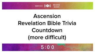 Ascension Revelation Trivia Countdown