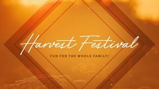 Harvest Festival Sermon