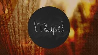 Autumn Grid Thankful