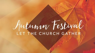 Autumn Oasis Sermon Series