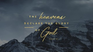 Autumn Scripture Psalm 19