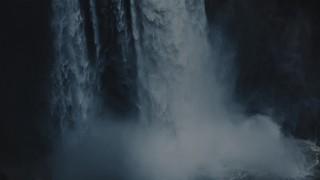 Autumn Scripture Waterfall