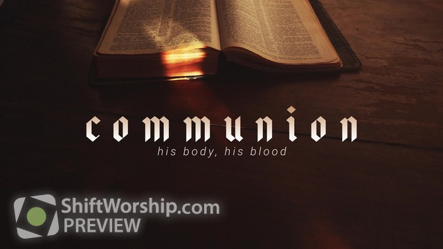 Preview of Bible Communion