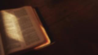 Bible Left Blur