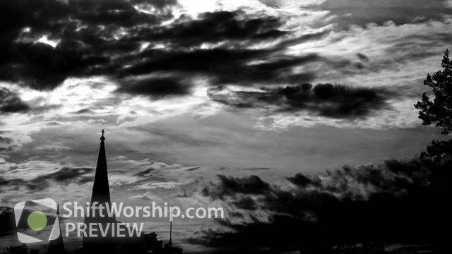 Preview of Black And White Steeple