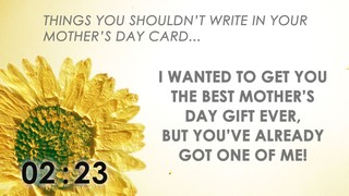Cards For Mom Countdown
