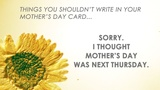 Cards For Mom (Church Videos)