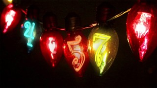 Christmas Bulbs Countdown