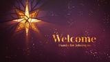 Christmas Glass Welcome