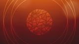 Circle Glass Orange