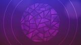 Circle Glass Purple (Stills)