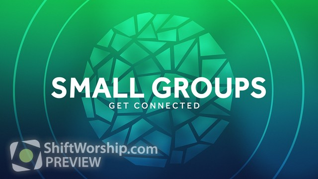 Preview of Circle Glass Small Groups
