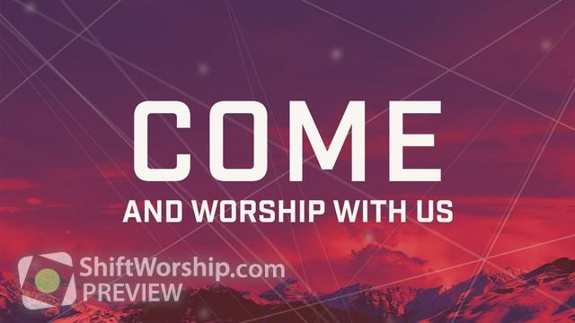 Preview of Cloudscape Sermon Series