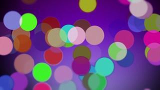 Color Discs Dancing