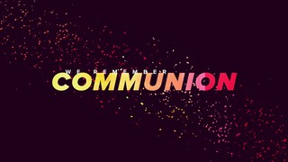 Color Spots Communion