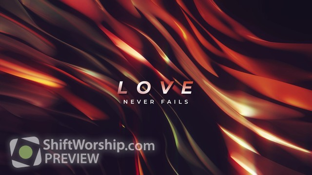 Preview of Color Waves Love Never Fails