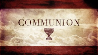 Communion Cup Red