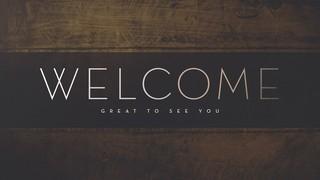 Communion Sunday Welcome