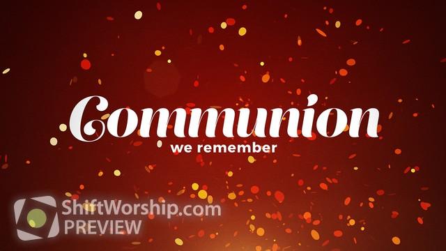 Preview of Confetti Communion
