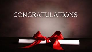 Congratulations Diploma