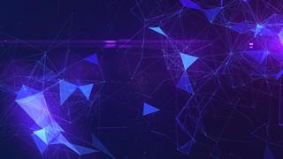 Cosmic Web Blue